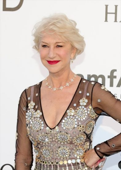 CAP D'ANTIBES, FRANCE - MAY 19:  Helen Mirren attends amfAR's 23rd Annual Cinema Against AIDS Gala at the Hotel du Cap-Eden-Roc on May 19, 2016 in Cap d'Antibes, France.  (Photo by Neilson Barnard/Getty Images for Harry Winston)