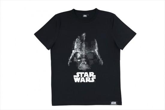 Tシャツ(DARTH VADER ランナー柄)