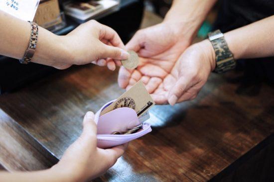coin & card case:ポイントカードも入ります