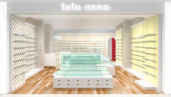 ▲「tutuanna アルビ大阪店」店内イメージ図