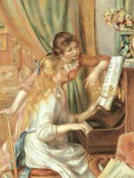 《ピアノを弾く少女たち》 1892年 油彩/カンヴァス オルセー美術館 © RMN-Grand Palais (musée d'Orsay) / Hervé Lewandowski / distributed by AMF