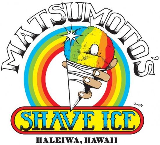 『Matsumoto Shave Ice』ロゴ