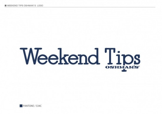 『Weekend Tips OSHMAN'S』ロゴ