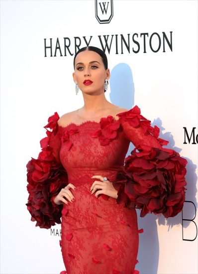 CAP D'ANTIBES, FRANCE - MAY 19:  Katy Perry attends amfAR's 23rd Annual Cinema Against AIDS Gala at the Hotel du Cap-Eden-Roc on May 19, 2016 in Cap d'Antibes, France.  (Photo by Neilson Barnard/Getty Images for Harry Winston)