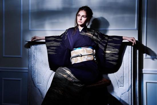 Hiromi Asai & Kimono Artisan Kyoto 2016 秋冬コレクション