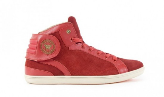 Barons Suede Rouge